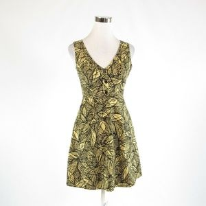 Light yellow WESTON WEAR A-line dress 0